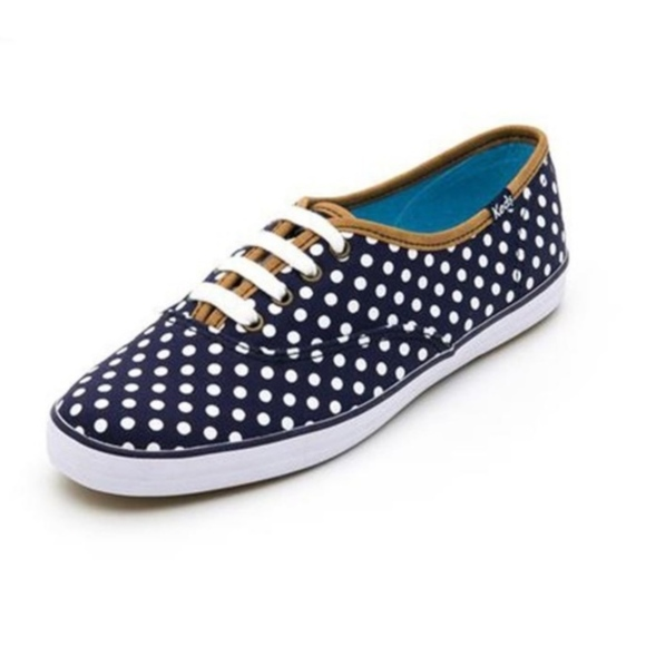 b05b60612d1 ⚡️Keds Champion Navy Polka dot sneakers
